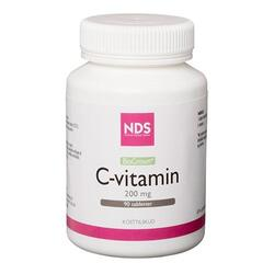 NDS C-vitamin 200 mg. - 90 tabletter