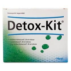 Detox-kit Udrensningskur 3 x 30 ml.