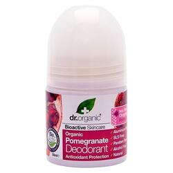Dr. Organic Deo roll on Pomegranate - 50 ml.