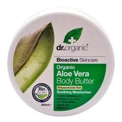 Dr. Organic Body Butter Aloe Vera - 200 ml.