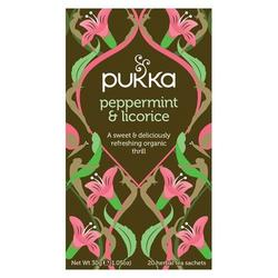 Pukka te Peppermint & Licorice te - 20 breve