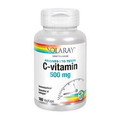 C-vitamin 500 mg. 180 kapsler