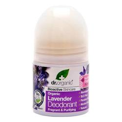 Dr. Organic Deo roll on Lavender - 50 ml.