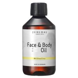 Juhldal Face & Body Oil oliven/citrus - 250 ml.