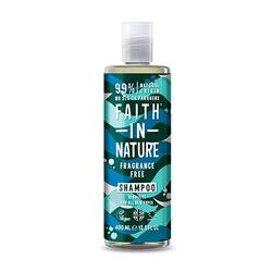 Faith in nature Shampoo Fragance Free - 400 ml.