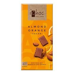 Ichoc almond orange Økologisk - 80 gram