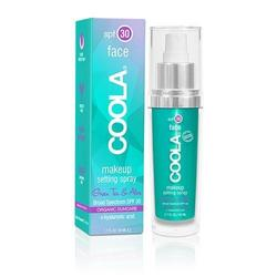 Coola Make-up setting spray SPF 30 tea/aloe - 50 ml.