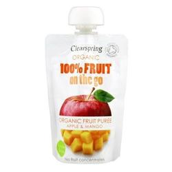 Clearspring Æble, Mango fruit on the go Øko. - 100 gram