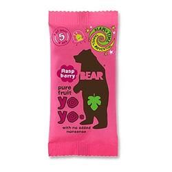 Yoyo pure fruit hindbær Bear  - 20 gram
