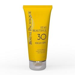 Solcreme til ansigtet 30 SPF Stay Beautiful Beauté Pacifique - 50 ml.