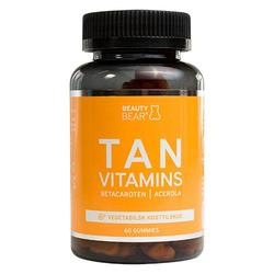 TAN vitamins BeautyBear - 60 stk