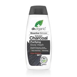 Body Wash Charcoal Purifying Dr. Organic - 250 ml.