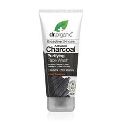 Face Wash Charcoal Purifying Dr. Organic  - 200 ml.