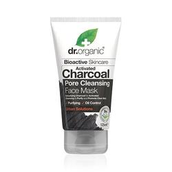 Face Mask Charcoal Pore Cleansing Dr. Organic - 125 ml.
