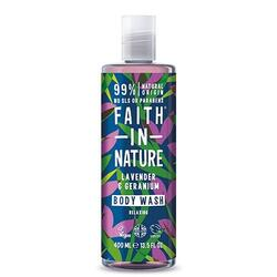 Showergel lavendel Faith in nature - 400 ml.
