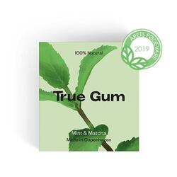 Tyggegummi Mint & Matcha True Gym - 20 gram