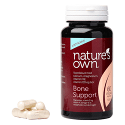 Knogler - Bone Support Wholefood - 60 kapsler