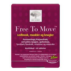 Free to move - 60 tabletter