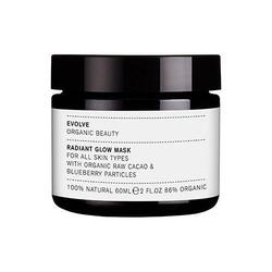Radiant Glow Mask with Blueberry Particles - Evolve - 60 ml.