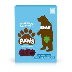 BEAR Paws Multipack Raspberry & Blueberry