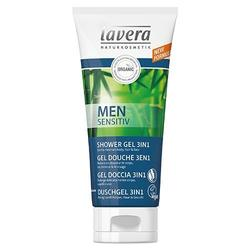 Shower Gel 3 in 1 - Men Sensitive - Lavera - 200 ml.