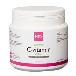 NDS C-vitamin 200 mg. - 250 tabletter