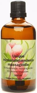 Muskelafspændings massageolie Unique - 100 ml.