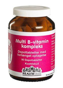 Multi B-Vitamin Complex 90 tabletter