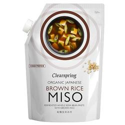 Brown rice miso økologisk - 300 gram