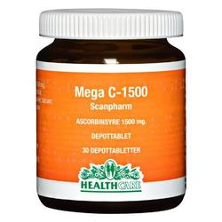 Mega C 1500 mg Health Care - 30 tabletter
