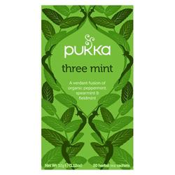 Pukka Three Mint tea Økologisk - 20 breve