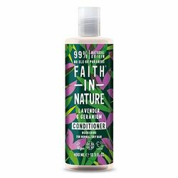 Balsam Lavendel & Geranium - Faith in Nature - 400 ml.