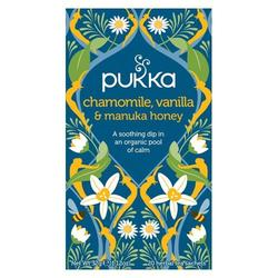 Pukka Chamomile, Vanilla & Manuka honey tea 20 breve