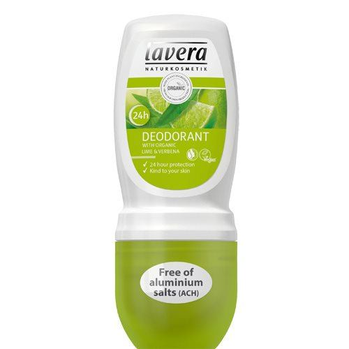 Lavera BodySpa Deo Roll-On jernurt/lime - 50 ml.