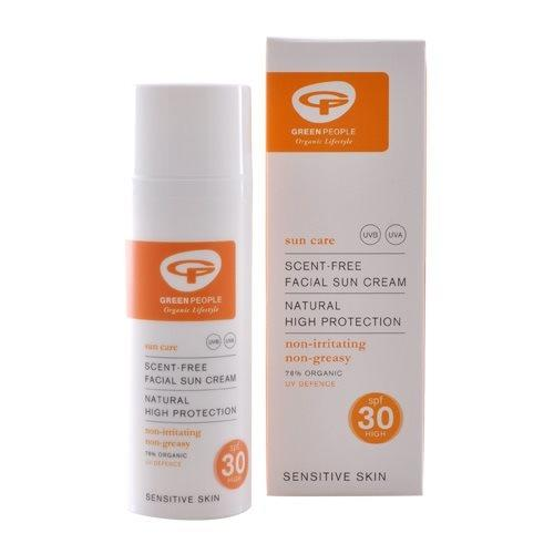 Green People Sun Lotion SPF25 No scent - 50 ml.