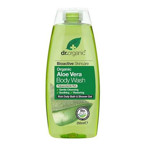 Dr. Organic Bath & Showergel Aloe Vera - 250 ml.