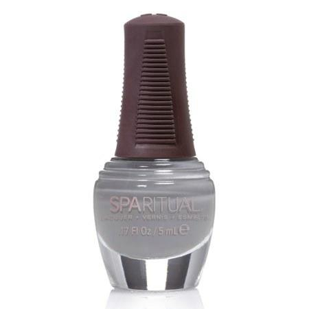 Sparitual Neglelak mini blå grå smoke n´mirrors - 5 ml.
