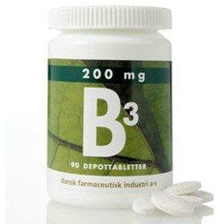 B3 depottablet 200 mg - 90 tabletter