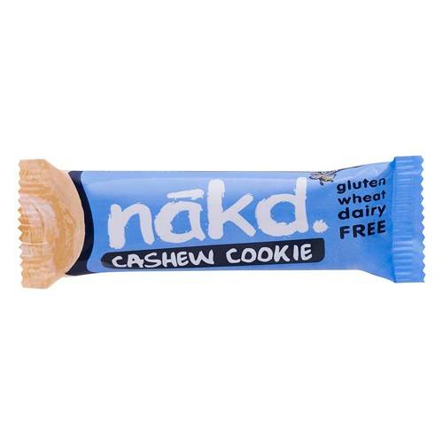 Näkd bar cashew cookie - 35 gram