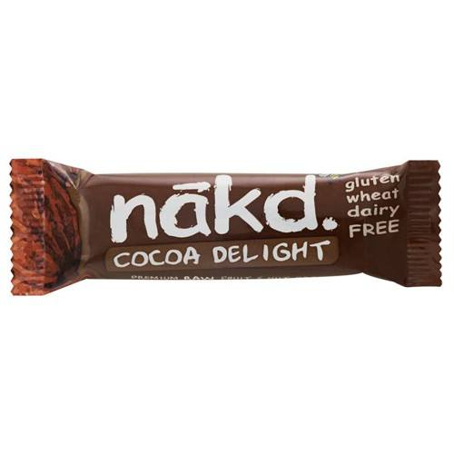 Näkd bar cacoa delight - 35 gram