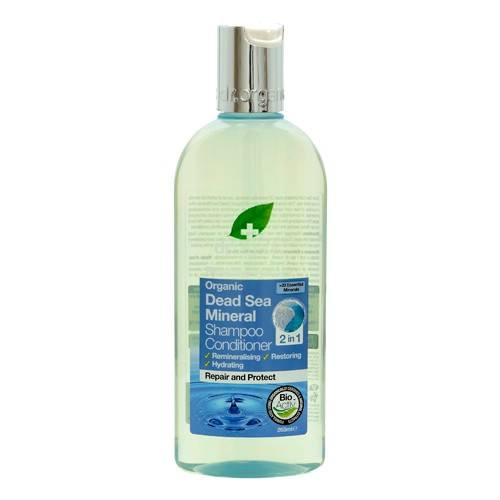 Dr. Organic Dead sea Shampoo & conditioner - 265 ml.