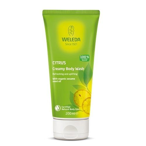 Weleda Creamy Body Wash Citrus - 200 ml.