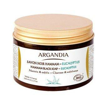 Argandia Hamman Black Soap Eucalyptus - 150 ml.