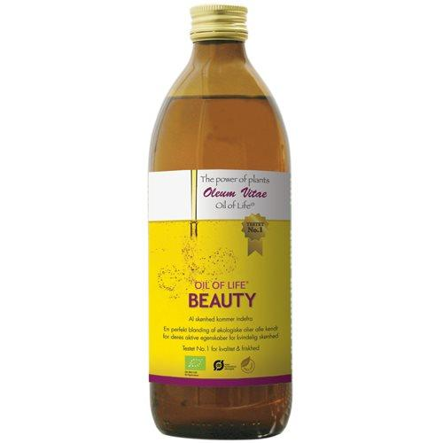 Oil of life Beauty Økologisk - 500 ml.