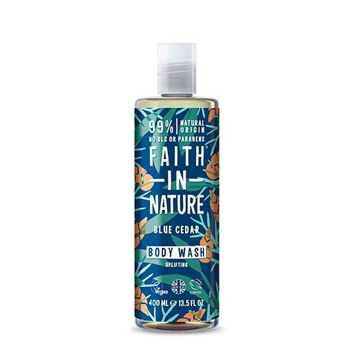Faith in nature Showergel Blue Cedar mænd 400 ml.