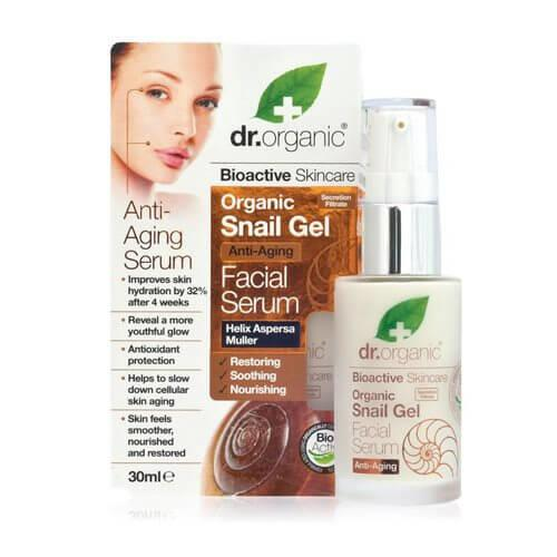 Dr.Organic Facial Serum Snail Gel 30 ml.