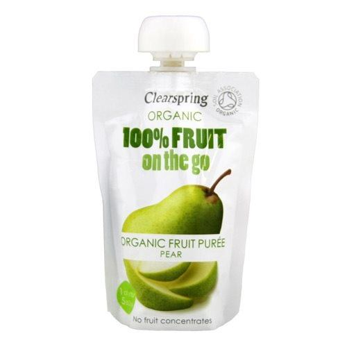 Clearspring Pære fruit on the go Øko. - 120 gram