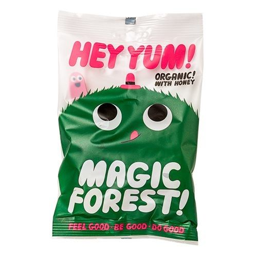 Hey Yum Vingummi Magic forest Økologisk - 100 gram