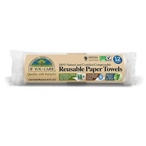 Reusable paper towels If You care