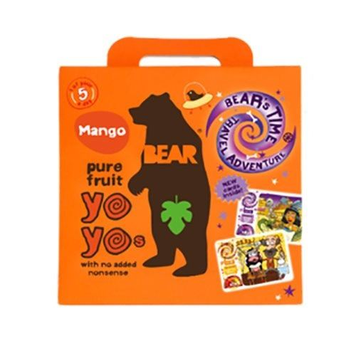 Yoyo multipak mango Bear pure fruit 5x20 gr